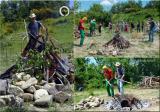 Osho Inipi Circle 21° anno - sabato, costruzione dell'Inipi camp e accensione del fuoco