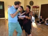 Corso per condurre Meditazioni a Pesaro, giugno 2017 - consegna dei certificati